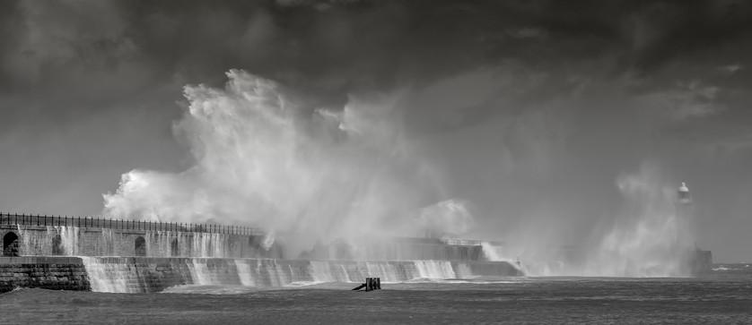 Tynemouth Pier.
