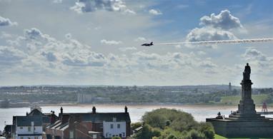 Tyne estuary, Red Arrows