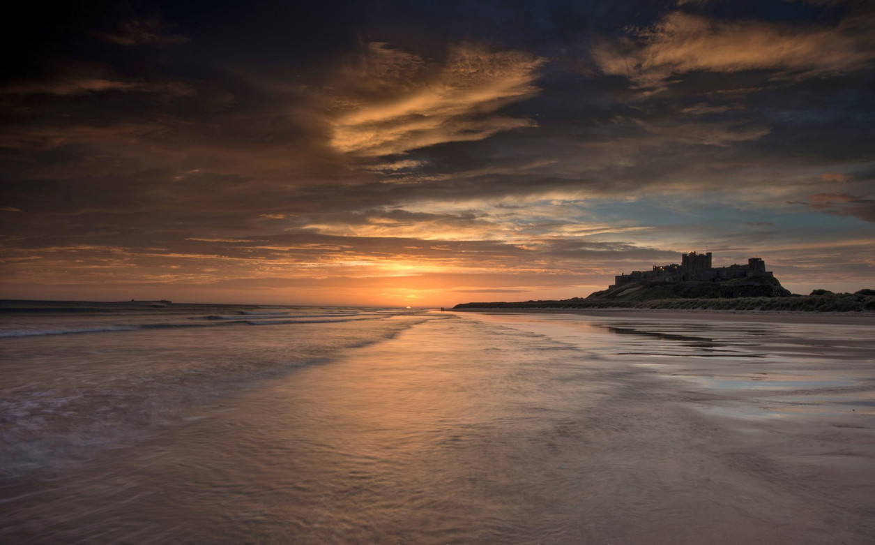 Bamburgh Sunrise.