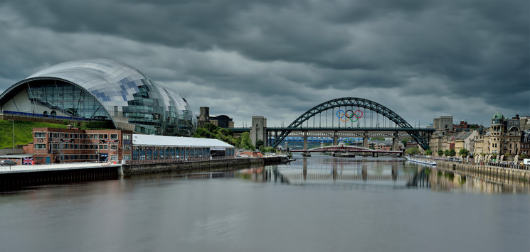 Tyne Bridge , Olympics 2012