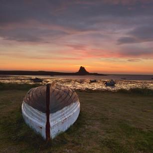 Holy Island Northumberland