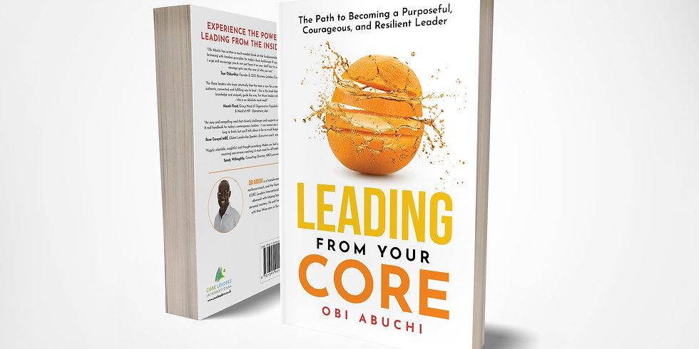 Leading from Your Core - Virtual Book Launch II - 2pm UK - 14th Oct