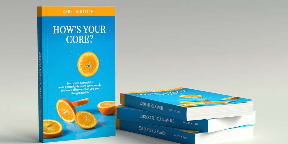 """""""How's Your CORE?"""" Book Feedback Session 1"""