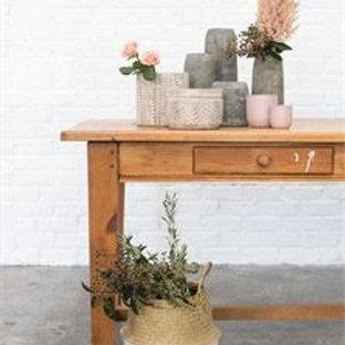 Yaya Basket - White