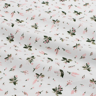 Floating Floral on Cream