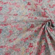 Swiss Dot - Pink floral