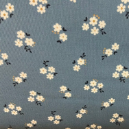 Daisy's on Pale Blue