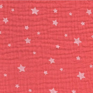 Coral red stars