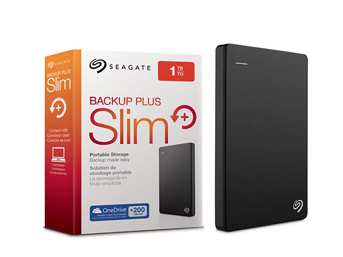 HDD 1TB USB 3.0 Seagate Backup Plus Slim