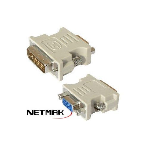 Adaptador DVI (M) a VGA (H)