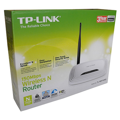 Router inalámbrico TP-LINK Tl-wr740n