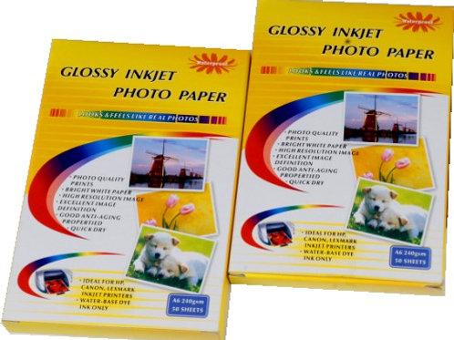 Papel Fotografico A4 180g/m2 - 20 Hojas