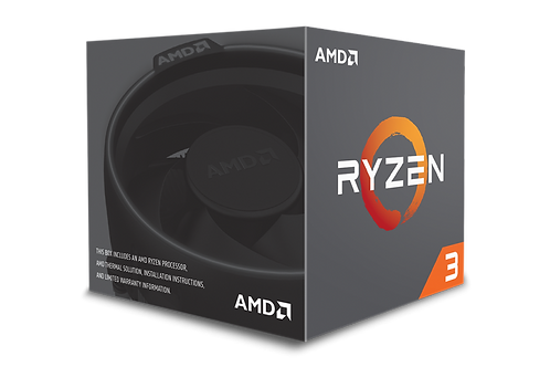 AMD Ryzen 3 1200, 3.40 GHz (Turbo)