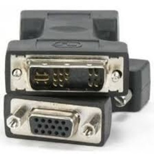 Adaptador DVI-A 12+5 (M) a VGA (H)
