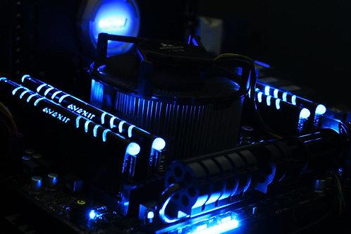 DIMM 8GB DDR3 Avexir Core 1600mhz Blue Leds