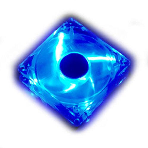 Cooler 80mm Blue 4 leds