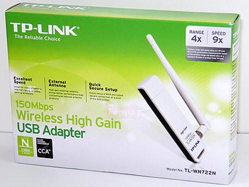 Placa de red USB Wireless TP-Link WN722N