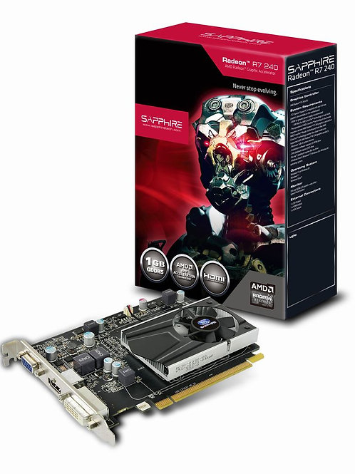 Sapphire R7 240 1GB DDR5 with BOOST