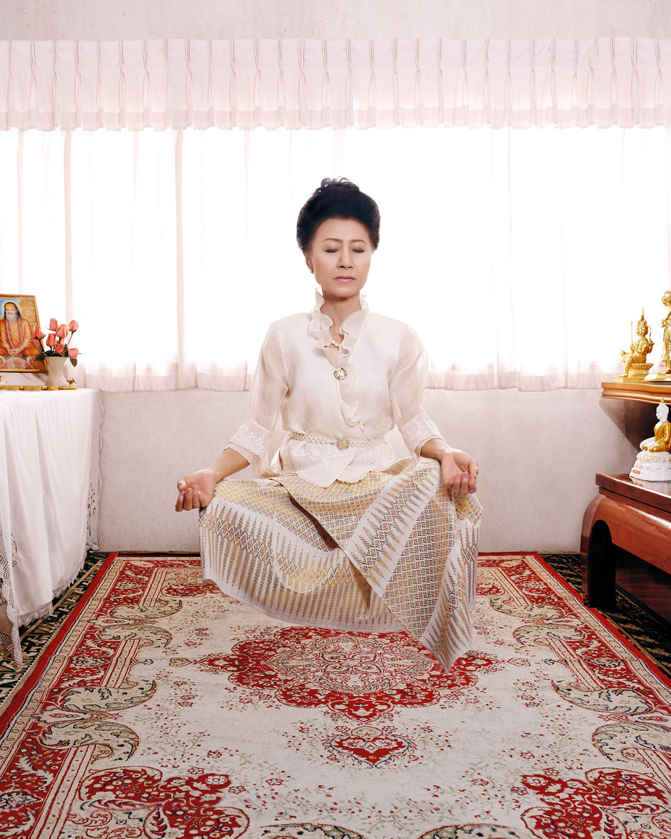 Khun Peggy in Meditation