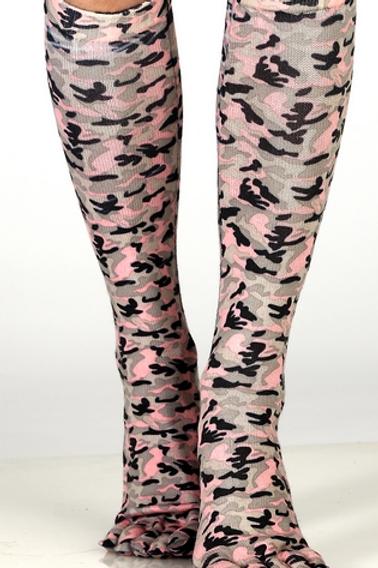 Pink Camo Toe