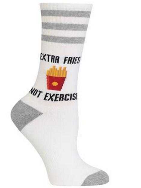"""crew """" Extra fries"""""""