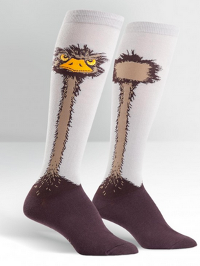 """Knee High """" Ostrich"""""""