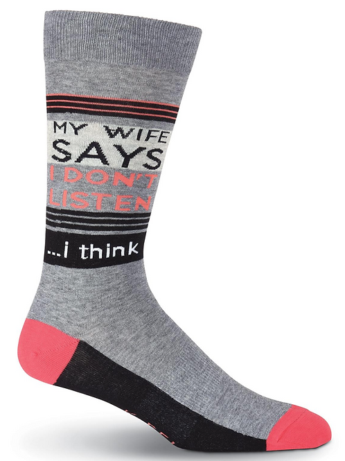 """Mens """" My wife says"""""""