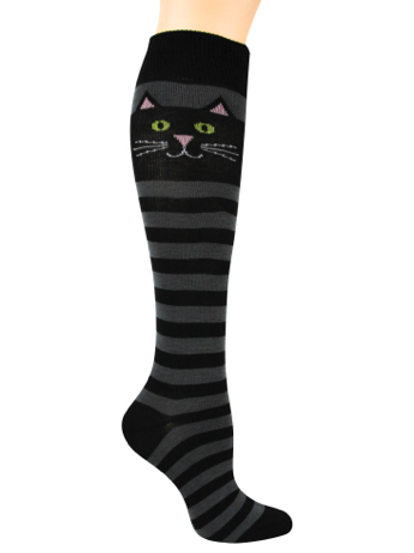 "Knee High ""Cat Stripe"""