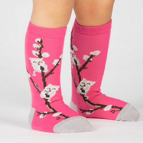 "Toddler knee high "" Kitty Willows"""