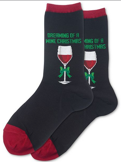 """Crew """" Dreaming of a wine Christmas"""""""