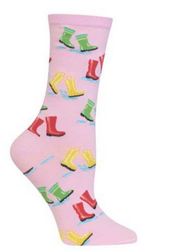 "Crew "" Rain Boots"" pink"