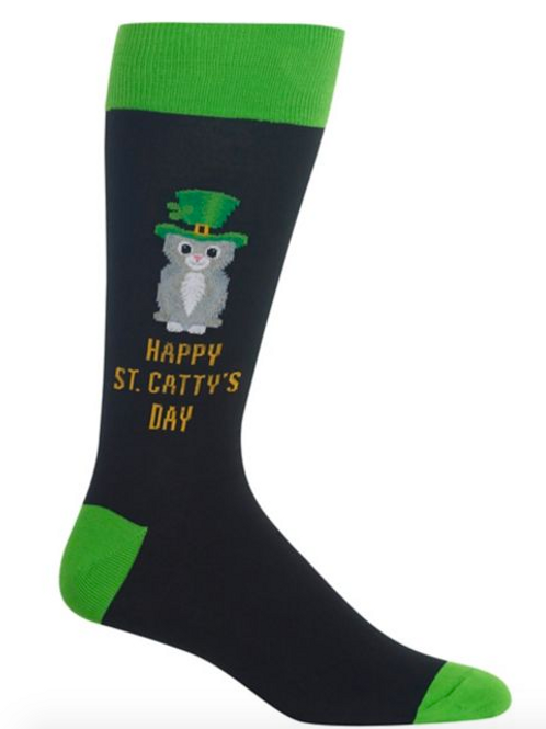"""Mens """" Happy St Cattys Day"""""""