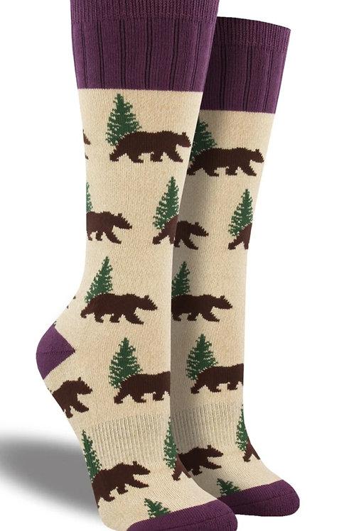 """Boot socks """" Bears"""""""