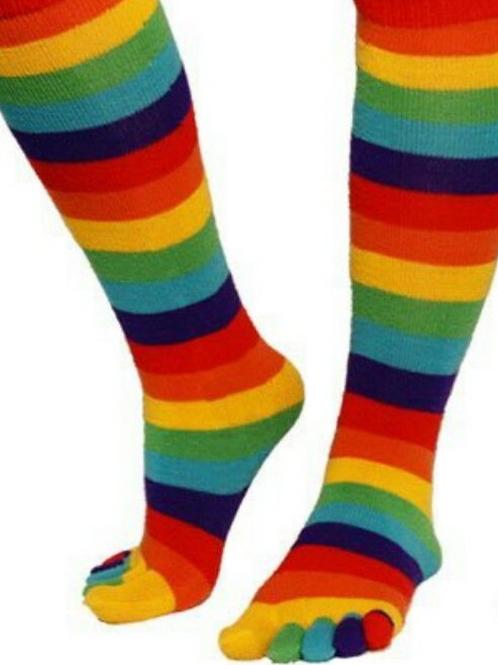 """rainbow stripe """" Toe"""""""