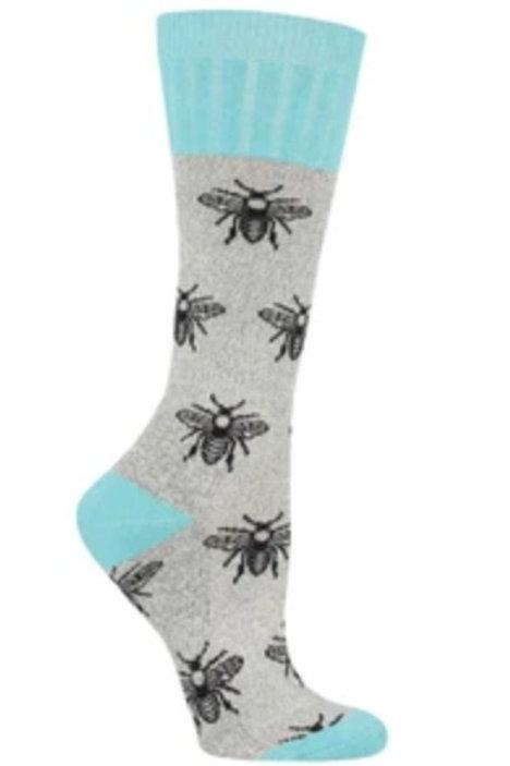 "Boot Socks "" Bees"""