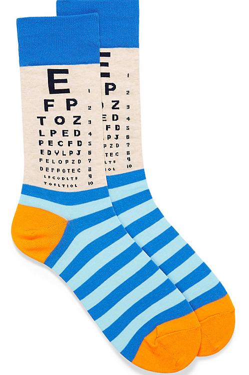 "Mens "" Eye Chart"""
