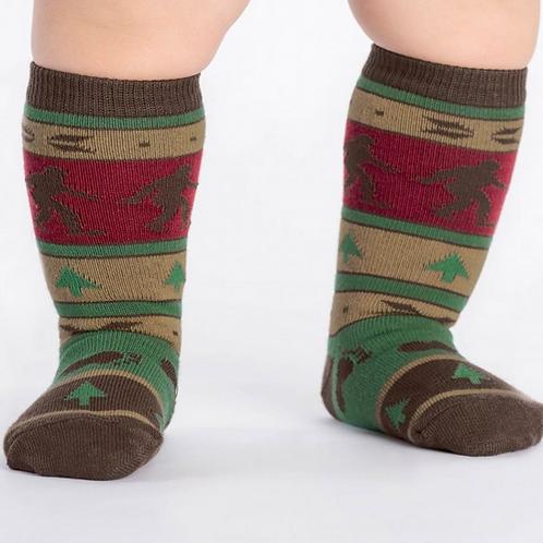 "Toddler knee high ""Big foot sweater"""
