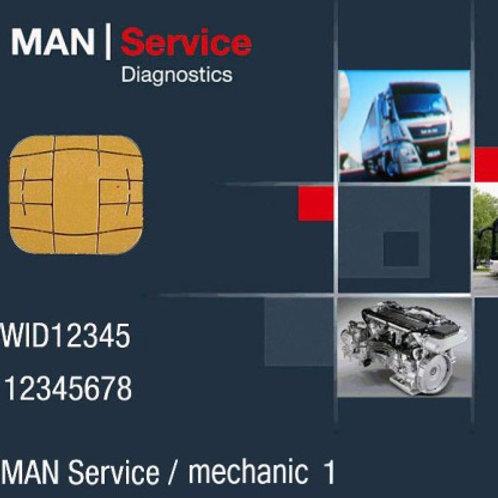 SmartCard TRUST MAN-cats® III