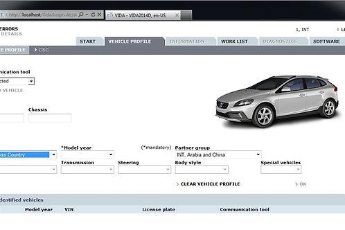 Volvo VIDA annual subscription