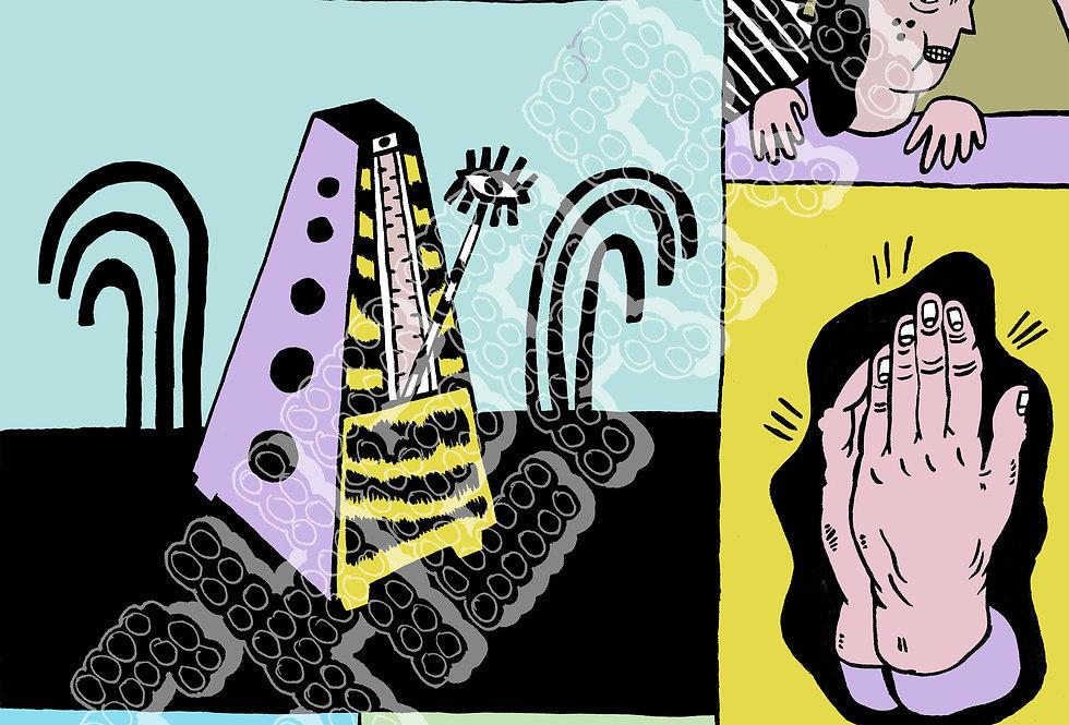 "Marianna Ostrowska - ""One"" Digital Print"