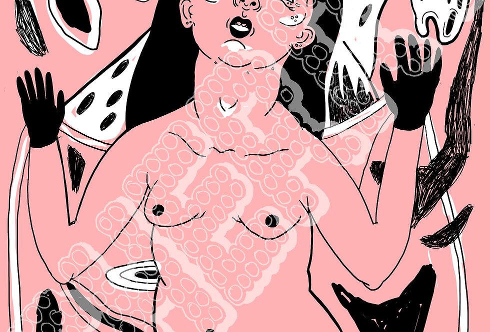"""Marianna Ostrowska - """"Untitled"""" Digital Print"""