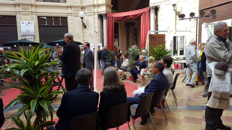 Stand Domus Pavia - Inaugurazione
