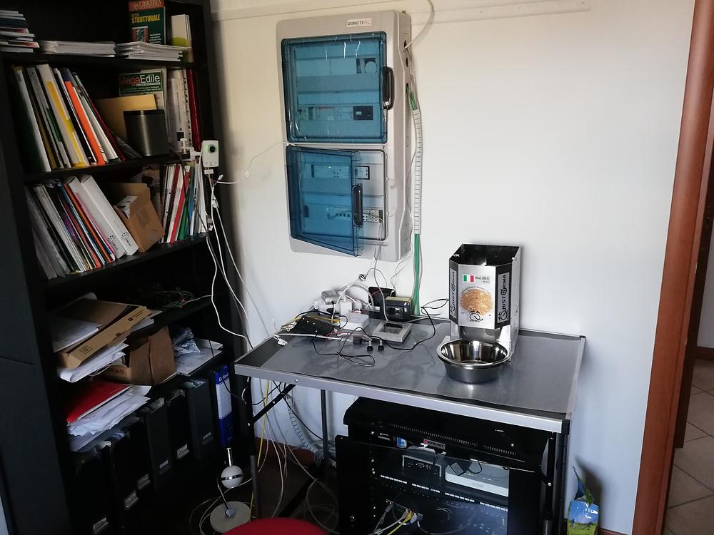 Impianto domotico knx (konnex)