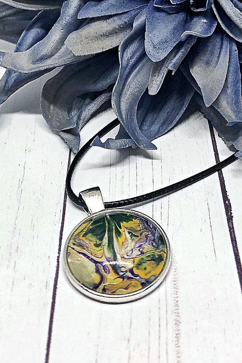 Tropical bloom pendant, pendant