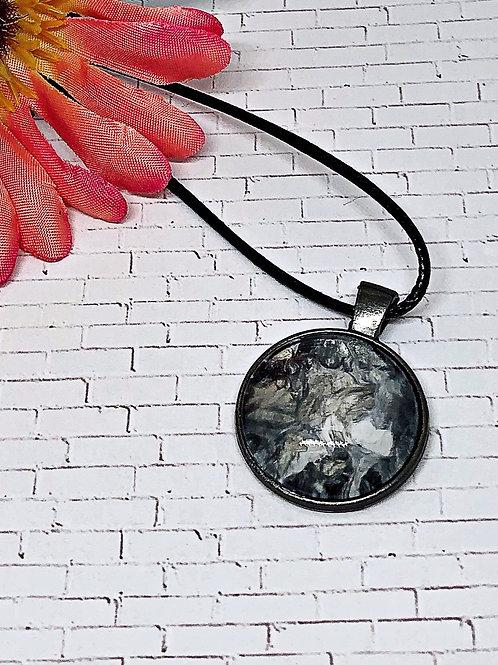Black and White pendant, pendant