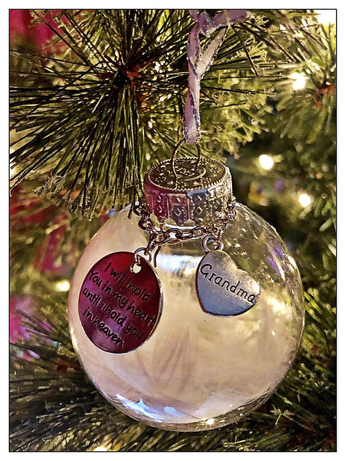 Customizable memorial ornaments