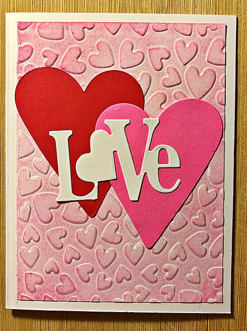 Love Valentines Day greeting cards