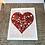 Thumbnail: Heart valentine card.