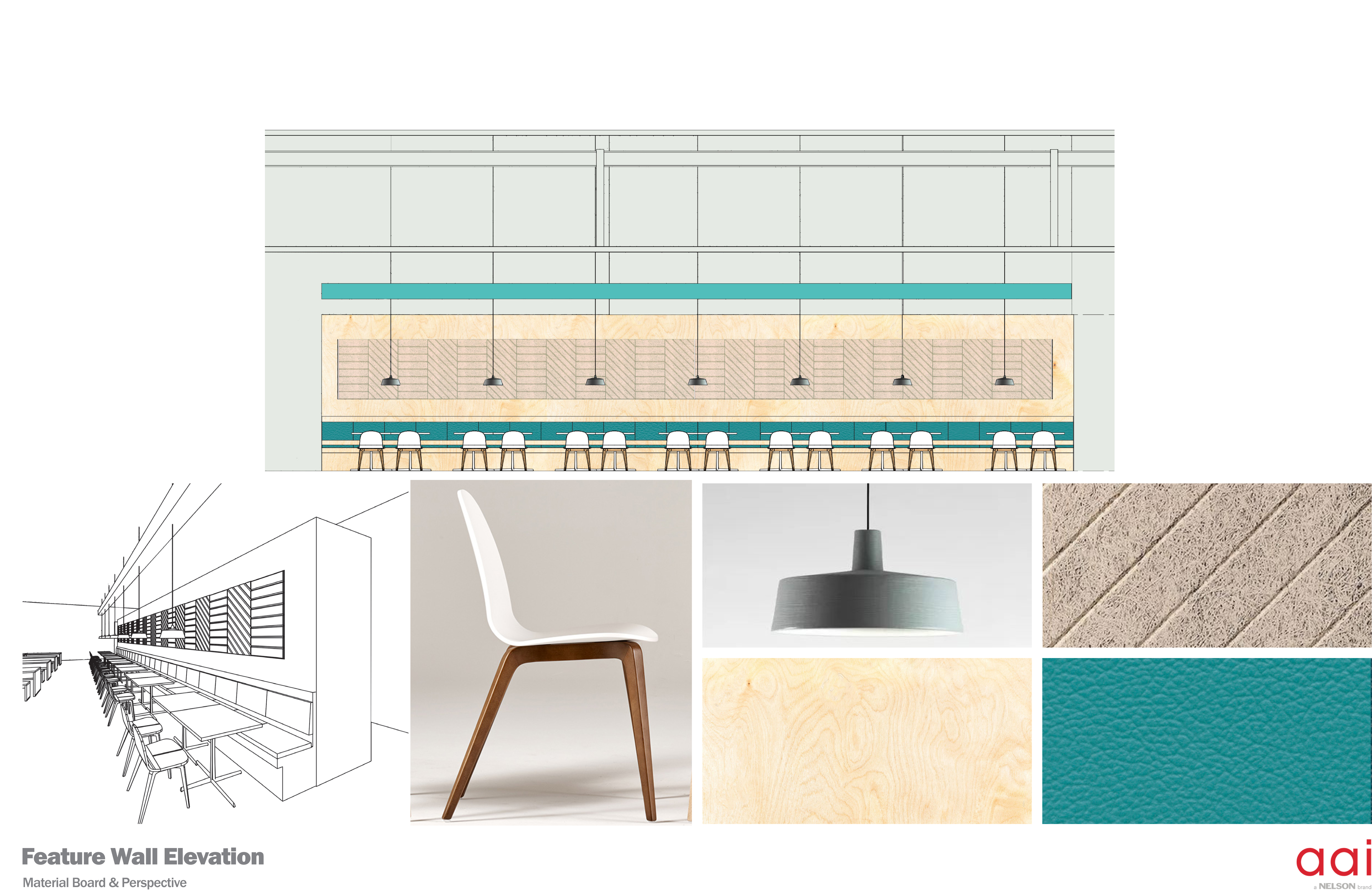 Feature Wall Elevation