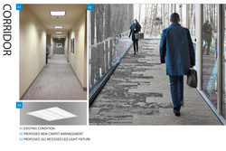 Corridor Lighting & Finishes